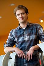 Samuel Mercier, étudiant au doctorat en génie chimique