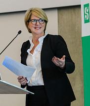Madame Nathalie Boudreau, directrice de la Fondation Hôpital Charles-LeMoyne.