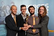 L'&eacute;quipe de La Fabrique a remport&eacute; le prix de projet par excellence lors du dernier Gala Forces Avenir<br>