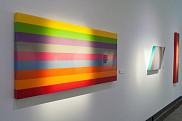 Dans les oeuvres d'Heidi Spector, tout se passe comme si sa palette de couleurs était une réplique aux chansons.