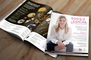 Annie Paquette - magazine des commerces et restaurants, Ville de Saint-Jean-sur-Richelieu. <br>Le projet d&rsquo;envergure &laquo;&nbsp;Soyez Local&nbsp;&raquo;.