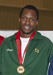 Le sprinterBen Youssef Méités'est illustré à l'épreuve du 100 mètres.