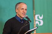 Le professeur Pierre Cossette, recteur.