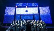 Le Choeur campus a livré une performance émouvante lors du Gala du rayonnement.