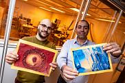 Les deux finalistes du concours <em>La preuve par l'image</em>, Yosri Ayadi et Ahmed Chakroun, chercheurs postdoctoraux respectivement au 3IT et chez IBM &agrave; Bromont.