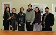 De gauche à droite sur la photo: Carlota Georgina Yañez Encizo, Denise Pelletier, Colette Deaudelin, Rafael Alberto González Porras, Luz Herlinda Godina Silva et Rafael Garza Mendoza.