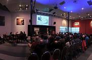Une salle presque comble pour le Forum du RECSUS 2017. <br>