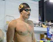 Le nageur vedette du Vert &amp; Or Jonathan Naisby.<br>