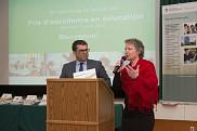 La cérémonie était animée par le doyen de la Faculté d'éducation, Pr Serge Striganuk, et par l'instigatrice des Prix d'excellence en éducation, Pre Hélène Guy.