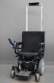 Prototype de chaise roulante autonome avec le capteur de Microsoft Kinect 2