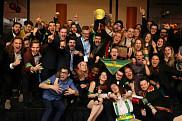 Délégation sherbrookoise qui a participé à la 28e édition des Jeux de génie du Québec