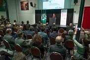 Mme Lucie Blanchet, la première vice-présidente à la direction, Particuliers et Marketing, à la Banque Nationale a eu le plaisir d'annoncer le don 2,4 M$ de la Banque Nationale devant une salle comble.