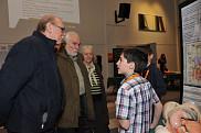 «L'adrénaline demystifiée» présentée au visiteurs du kiosque 52, par Antoine Spertini et Nikolas Rocque de l'École internationale du Phare.