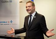 Monsieur Luc Fortin, ministre de la Culture et des Communications, ministre responsable de la Protection et de la Promotion de la langue française et ministre responsable de la région de l'Estrie.
