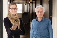 La professeure en politique appliquée Annie Chaloux et le professeur en géomatique appliquée Alain Royer ont décidé d'unir leur discipline respective lors d'un événement « Bar des sciences » afin de mieux porter la réflexion sur le sujet du réchauffement climatique et de ses impacts.