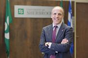 Pierre Cossette, prochain recteur de l'Université de Sherbrooke. Il est la 10e personne à occuper le poste de recteur dans l'histoire de l'UdeS depuis sa création en 1954.