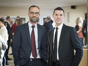 David Koussens et Bertrand Lavoie.<br>