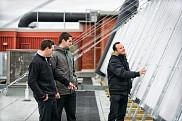 <p>On observe l&rsquo;installation quelques jours avant l&rsquo;inauguration.</p>