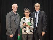 Lise Charbonneau, prix <em>Qualit&eacute; de service.</em><br>