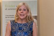 La vice-rectrice aux études et ex-doyenne de la Faculté des lettres et sciences humaines, la professeure Christine Hudon.