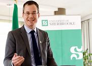 Le Dr Etienne Richer, directeur scientifique associé de l'Institut de génétique des Instituts de recherche en santé du Canada (IRSC).