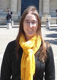 Karine P&eacute;pin, &eacute;tudiante au doctorat en histoire<br>