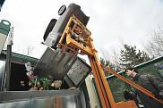 L'unité de compostage permettra de valoriser 60tonnes de matières putrescibles annuellement.