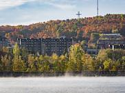 La gestion du Mont Bellevue est un bel exemple de partenariat entre la Ville de Sherbrooke et l'Université de Sherbrooke.