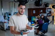 Thomas Deshayes, étudiant à la maîtrise en sciences de l'activité physique