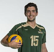 Le volleyeur du Vert & Or Laurent Duval-Demers.