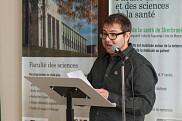 M. Charles Custeau, vice-président du conseil d'administration de la Fondation du CHUS