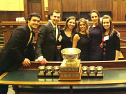 L'équipe de Sherbrooke était composée de Julien Ruchon, Samuel Monfette-Tessier, Gabrielle Harvey, Fanny Dubois-Grondin, Fanny Forest et Jessica Drolet.
