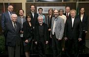 La cérémonie a également souligné l'obtention de prestigieux prix de recherche en 2014. Onze des chercheurs honorés étaient présents pour l'occasion.