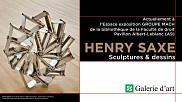Henry Saxe, De la S&eacute;rie <em>Tractor, </em>1981. Aluminium, dimensions variables. Collection Universit&eacute; de Sherbrooke. Don Dr Patrick Charlebois et Mme Genevi&egrave;ve Miller.