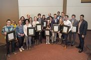 Plusieurs étudiantes et étudiants étaient à l'honneur lors du Défi étudiant2014.