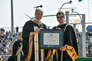 Dean Kamen, docteur d'honneur de l'Université de Sherbrooke