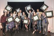 Les lauréates et lauréats du Défi étudiant 2016.<br>