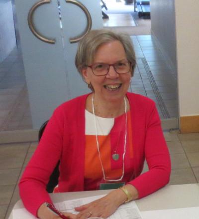Marie-Claude Beauchamp est bénévole dans la brigade techno et membre du CA de l'antenne de Laval de l'UTA.