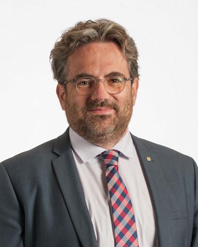 Le professeur Vincent Aimez, vice-recteur à la valorisation et aux partenariats de l'Université de Sherbrooke