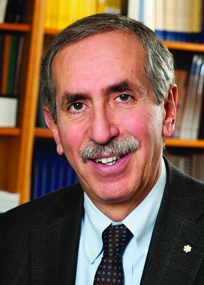 Alan Bernstein, nouveau docteur d'honneur de la FMSS.