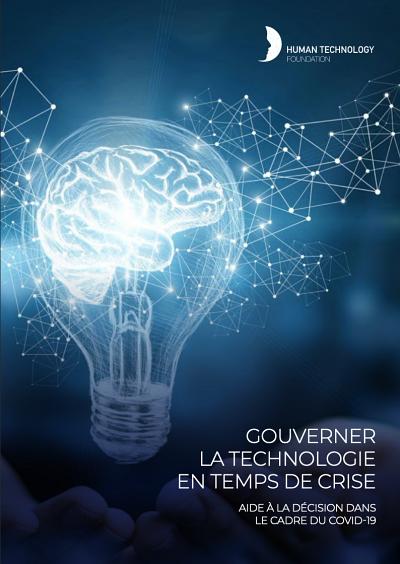 Couverture du rapport, produit par la Human Technology Foundation.