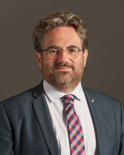 Le professeur Vincent Aimez, vice-recteur à la valorisation et aux partenariats