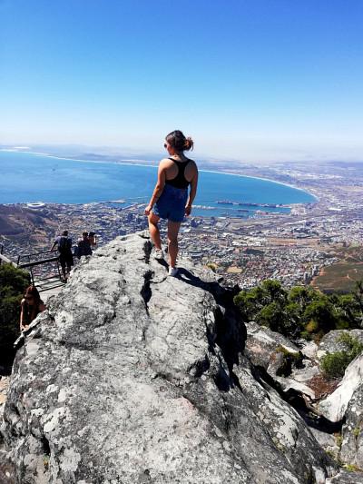 Journée de congé en Afrique du Sud.