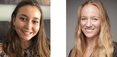 La partie intimée : Raphaëlle Villeneuve et Gabrielle Perron