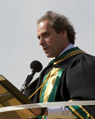 Le doyen de la Faculté d'administration, François Coderre