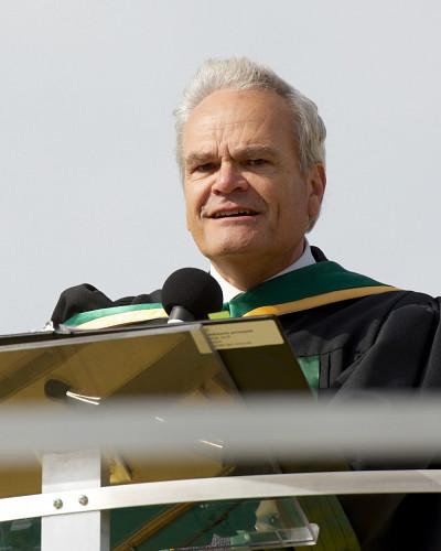 Le doyen de la Faculté des sciences, Serge Jandl