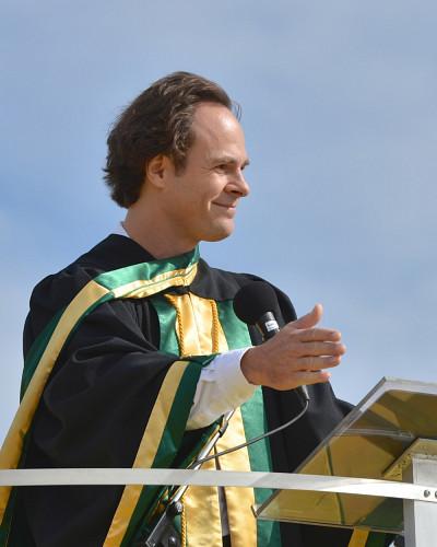 Sébastien Lebel-Grenier, doyen de la Faculté de droit