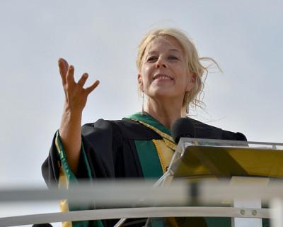 Christine Hudon, doyenne de la Faculté des lettres et sciences humaines