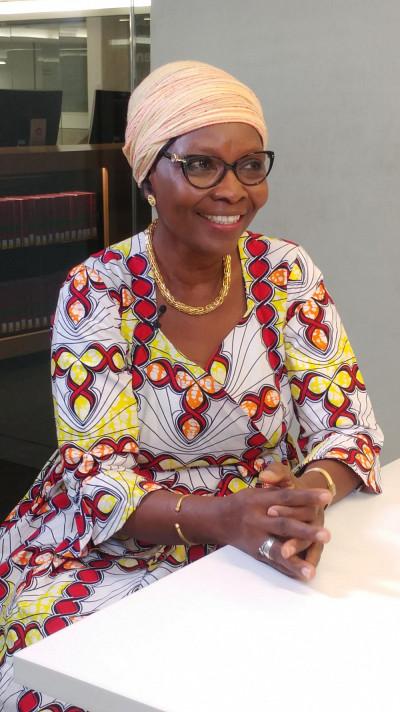 Justine Coulidiati est professeure-chercheuse à l'Unité de Formation et de Recherche en Sciences Economiques et de Gestion (UFR-SEG), de l'Université de Ouaga II au Burkina Faso.