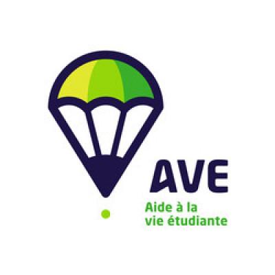 Tous les AVE disposent de ce logo près de leur porte, ainsi il est facile de les identifier sur les campus.